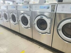Wascomat Electrolux Front Load Washer Coin Op 30lb 220v M n W630cc ref