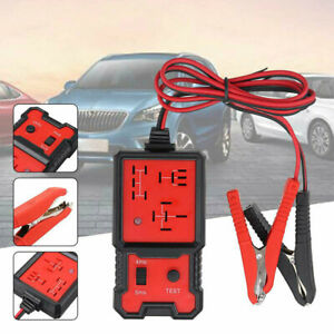 Universal 12v Car Relay Tester Tool Relay Testing Auto Battery Checker Accurate