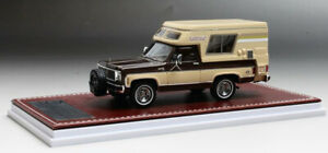 143 Great Iconic Models 1976 1978 Chevrolet Blazer Chalet Beige And Brown Gim06