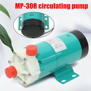 Industrial Mp 30r Chemical Magnetic Drive Circulation Water Pump 33l min 2700rpm