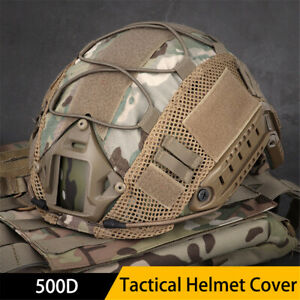 Tactical Helmet Cover for FAST Helmet Army Military Airsoft Headwear $14.99