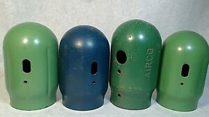 4 Mig Torch Welding Oxygen Acetylene Tank Threaded Bottle Safety Cap Top See Pic