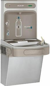 Elkay Lzs8ws Ezh2o Wall Mounted Drinking Fountain And Hands Stainless Steel