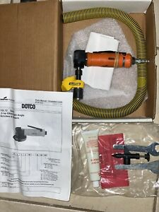 Dotco 12lf280 36 Right Angle Die Grinder 12 000 Rpm 1 4 Collet New Tool