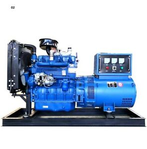 50kw Military Power Diesel Generator 3 Phase Alternator House Power Outage Kit