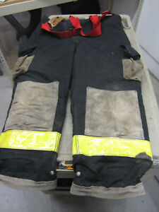 Size 40 X 28 Cairns Fire Fighter Turnout Pants Good
