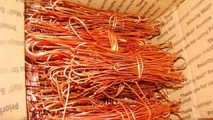 Copper Wire For Crafts Jewelry Melt Clean 10 Lbs Scrap