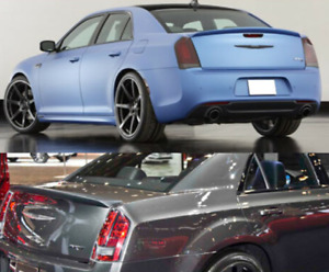 For 11 19 Chrysler 300 Factory Oe Style Painted Trunk Lip Spoiler Rear Wing