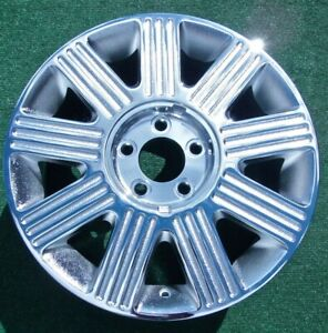 Chrome Ford Crown Victoria Wheels 4 New 2003 Thru 2011 Oem Factory Style 17 Inch