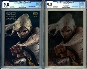 SOMETHING IS KILLING THE CHILDREN #16 Frankie#x27;s Lee Set Foil Trade CGC 9.8 $149.00