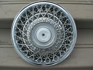 Chrysler Cordoba New Yorker Imperial Wire Wheel Spoked Hubcap Wheel Cover 15