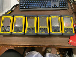 Lot Of 6 X Trimble Nomad 900 Data Collector Handheld Computer