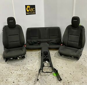 2012 2015 Chevy Camaro Ss Front Rear Seat Set W Center Console Auto Cloth