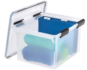 Letter And Legal Size Weathertight File Box