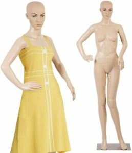 69 realistic Display Head Turns Dress Form With Base Female Mannequin Full Body