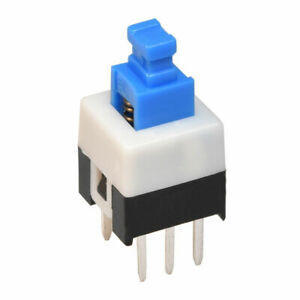 Mini Push Button Switch Self locking Or Momentary 7x7mm 6 pin Dpdt Micro