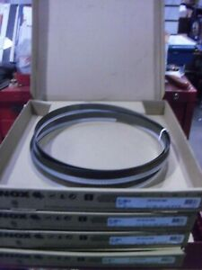 Four Lenox 9 Ft 11 1 2 In X 1 In X 035 X 4 6 Tooth Bi metal Bandsaw Blades