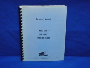 Wavetek 2001 Sweep signal Generator Instruction Manual
