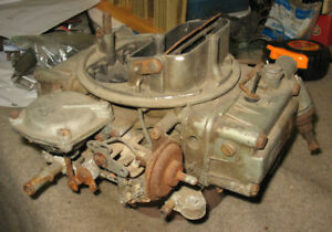 66 Chevelle Ss 396 Holley Carb 3140 Dated 1966