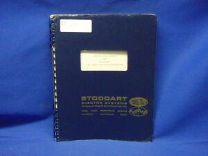 Stoddart 93453 1 Pulse Generator Instruction Manual