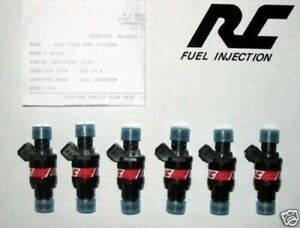 Rc Injectors Bmw E30 M3 S14 M10 Bosch 550cc High Impedance Resistance 6 Ev1