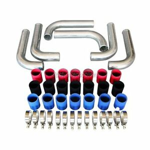 Cxracing 3 Universal Alum Turbo Intercooler Piping Kit 2mm Thick