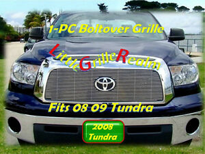 07 08 09 07 2008 2007 2009 Toyota Tundra Billet Grille 1pc