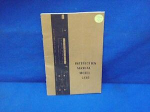 Valhalla Scientific Model 2500 Instruction Manual