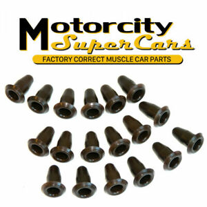 69 70 71 72 Gto 442 Gs Chevelle Door Panel Inserts Clips Hardware Kit 18pc
