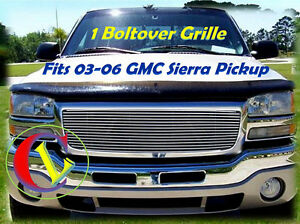 03 04 05 06 2006 2003 2004 2005 Gmc Sierra Pickup Upper Billet Gr