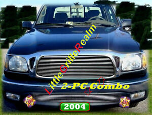 01 02 03 04 2003 2004 2002 2001 Toyota Tacoma Billet Grille 2pc