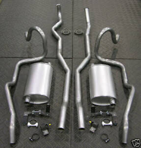 68 69 Cutlass F 85 W 31 Factory Duel Exhaust System