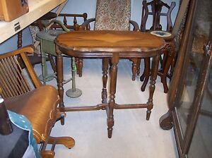 Cherry Diamond Carved Sofa Table Or Entry Table T26