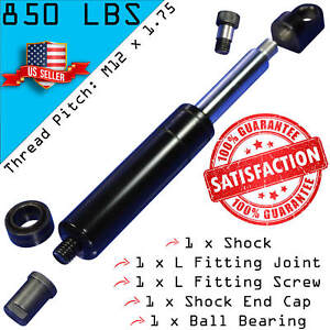 1 Bolt On Lambo Vertical Door Kit Shock With 4 Fitting Ends M12 850lbs