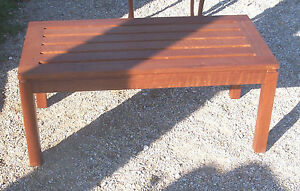 Mid Century Modern Mahogany Coffee Table Ct37