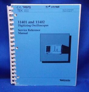 Tektronix 11401 11402 Oscilloscope Service Manual Oct 1987 070 6779 00