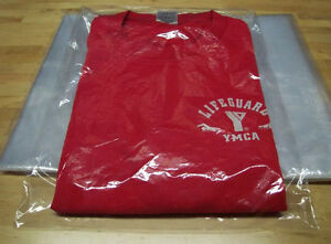 500 clear 9 X 12 Poly T shirt Apparel Plastic Bags 2 Flap 1mil High Clarity