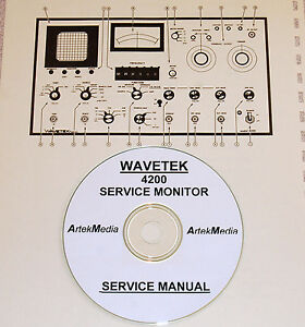 Wavetek 4200 Service Monitor Ops Service Manual