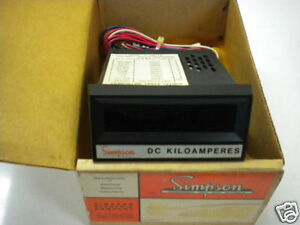 Simpson 2860 Digital Meter New 200mv