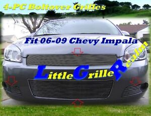 06 07 08 09 2006 2007 Chevy Impala Billet Grille Combo