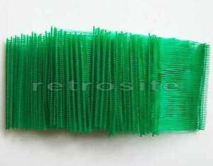 1000 Green Price Tag 3 Plastic Barbs Fasteners Use With Regular Tagging Gun
