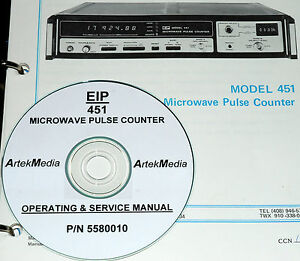 Eip 451 Pulse Counter Operating And Service Manual