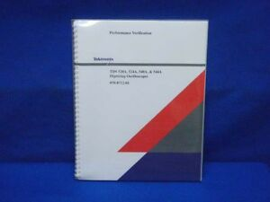 Tektronix Tds 520a 524a 540a 544a Performance Manual