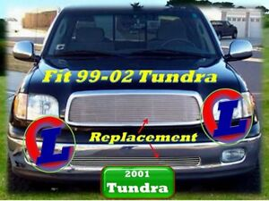 99 01 02 1999 2000 2001 Toyota Tundra Billet Grille 2pc 2002