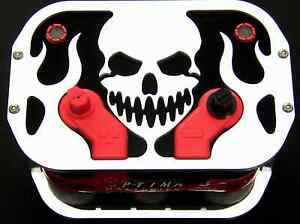 Skull Optima Battery Tray Box Bracket 34 78 D34 Rat Rod classic muscle show Car