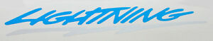 1993 1995 Ford Svt Generation 1 Lightning Side Bed Badge Emblem