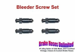 Bleeder Screw Set Ford Car 1939 1940 1941 1942 1946 1947 1948 1949