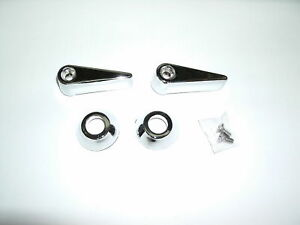 1968 1969 Ford Mustang Seat Release Latch Set