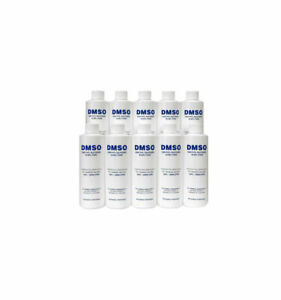 Pharmaceutical Grade Dmso 10 Bottle Special 8 Oz Bottles