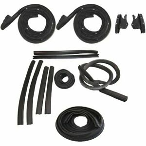 1968 1969 Dodge Coronet Convertible Weatherstrip Seal Kit New